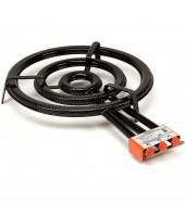 Gasolbrännare Paella 60 cm 3 breda ringar